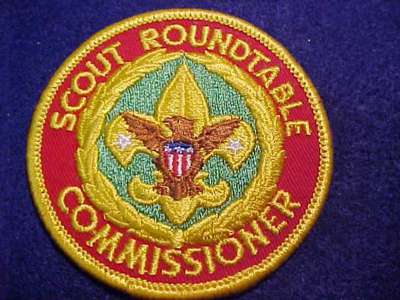 SCOUT ROUNDTABLE COMMISSIONER, 1973-91