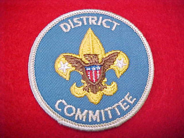 DISTRICT COMMITTEE, 1973-PRESENT