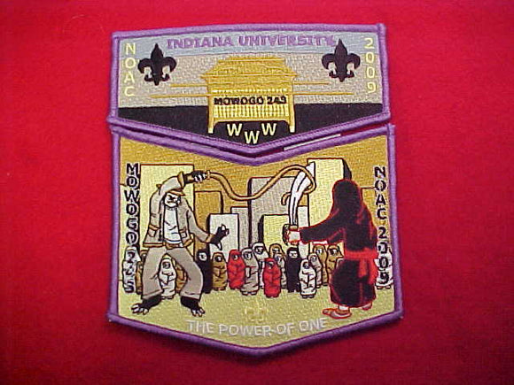 lodge 243 mowogo S68? + X16?, indiana university, contigent issue