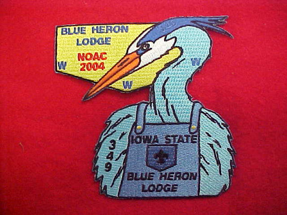 lodge 349 blue heron S67, 2004 noac
