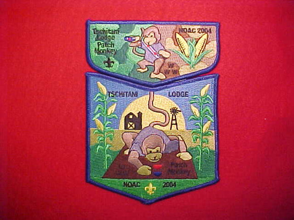 10 S30 + X3, TSCHITANI, NOAC 2004, TSCHITANI LODGE PATCH MONKEY