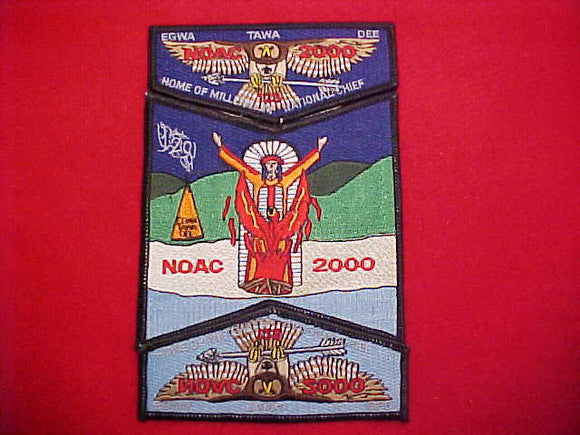 129 S37 + S38 + X17 EGWA TAWA DEE, NOAC 2000, HOME OF MILLENNIUM NAT'L CHIEF