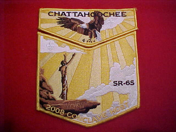 204 S113 + X22 CHATTAHOOCHEE, 2008 SR-6S CONCLAVE HOST