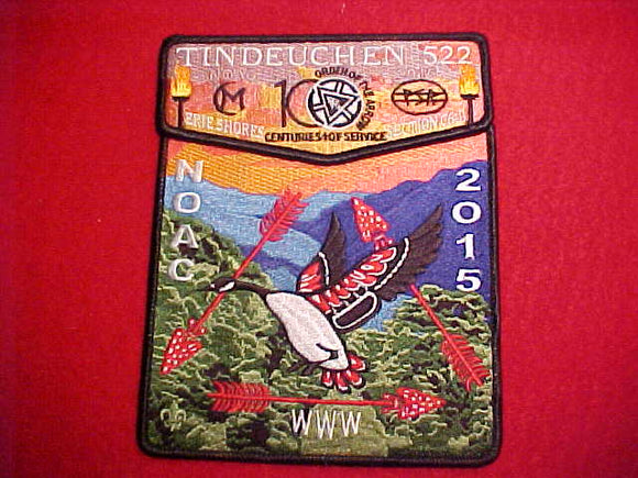 522 S? + X? TINDEUCHEN, NOAC 2015, ERIE SHORES, SECTION C6-D