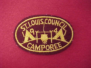 St. Louis Council Camporee - 1941 (Act41-5)