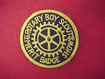 Rotary Boy Scout Merit Badge Show - 1948 (Act48-3)