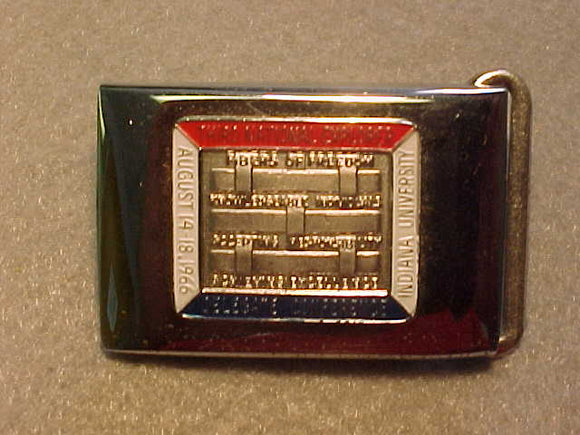 BELT BUCKLE,1966 THIRD NATIONAL EXPLORER DELEGATE CONFERENCE