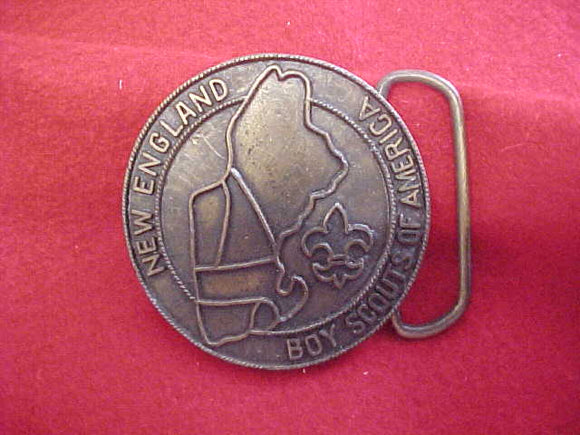 BELT BUCKLE, NEW ENGLAND BSA