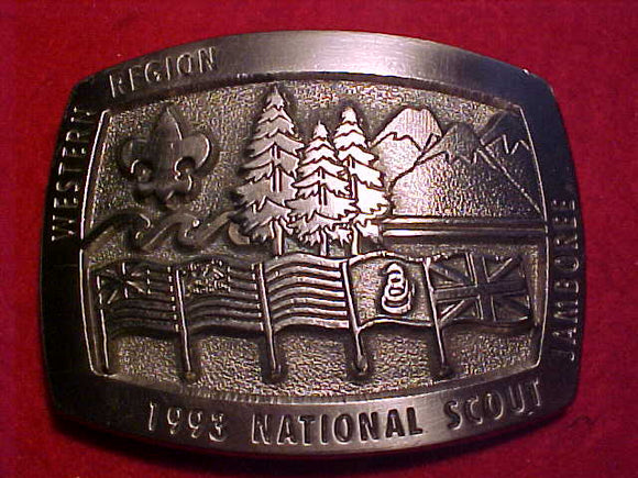 1993 National Jamboree, western region, limited edition, serial number #70