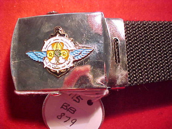 Egypt Air Scout belt buckle with web belt.