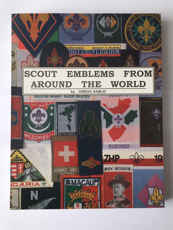 SCOUT EMBLEMS FROM AROUND THE WORLD, 2ND EDITION, 1996