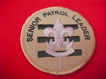 SENIOR PATROL LEADER, 1989+