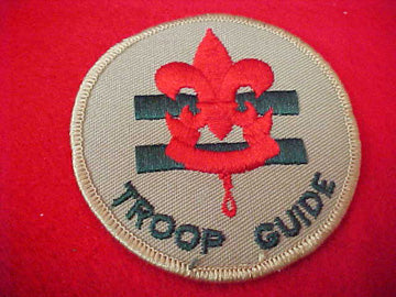 TROOP GUIDE, 1989-PRESENT