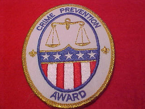 Crime Prevention Award