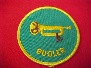 BUGLER, CLOTH BACK, 1972-89