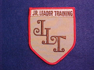 JR LEADER TRAINING 5 SIDED PATCH, 1980'S