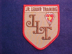 JR LEADER TRAINING 5 SIDED PATCH, 1985