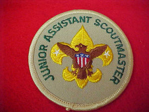 JUNIOR ASSISTANT SCOUTMASTER, 1989+