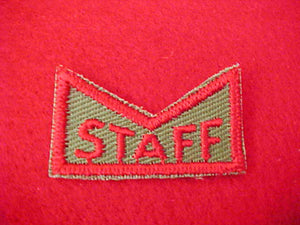 JUNIOR LEADER TRAINING STAFF PATCH, 1950'S-60'S