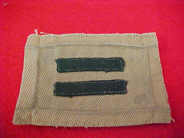 PATROL LEADER, WIDE BAR VARIETY, FELT BARS, 1914-33