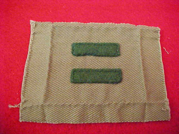 PATROL LEADER, FELT BARS, 1914-33, USED, EXCELLENT CONDITION