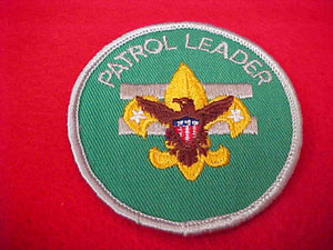 PATROL LEADER, GAUZE BACK, 1972-89