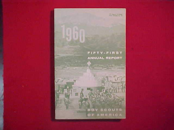 1960 BSA FIFTY-FIRST ANNUAL REPORT