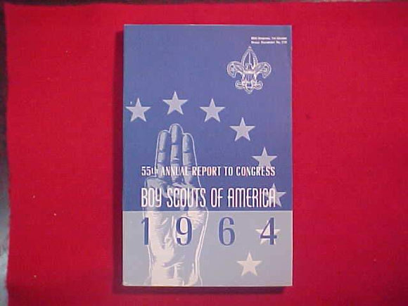 1964 BSA FIFTY-FIFTH ANNUAL REPORT