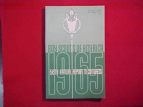 1965 BSA FIFTY-SIXTH ANNUAL REPORT