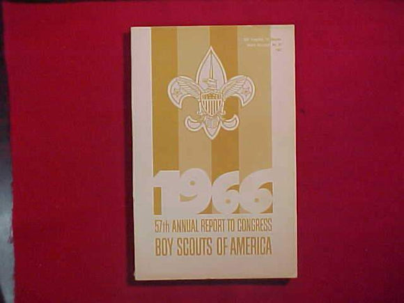 1966 BSA FIFTY-SEVENTH ANNUAL REPORT