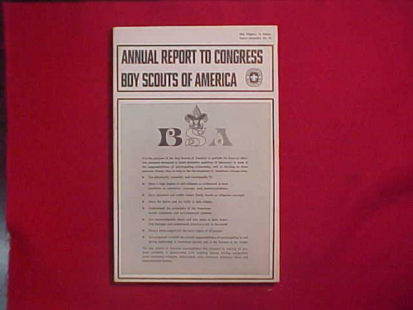 1970 BSA SIXTY-FIRST ANNUAL REPORT