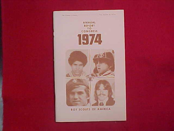 1974 BSA SIXTY-FIFTH ANNUAL REPORT