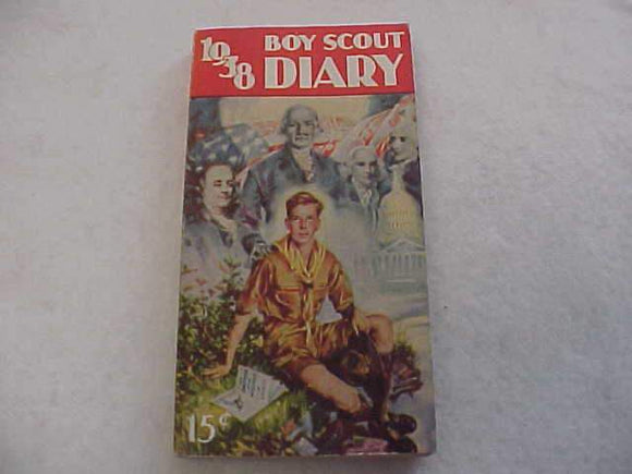 1938 BSA DIARY, MINT CONDITION