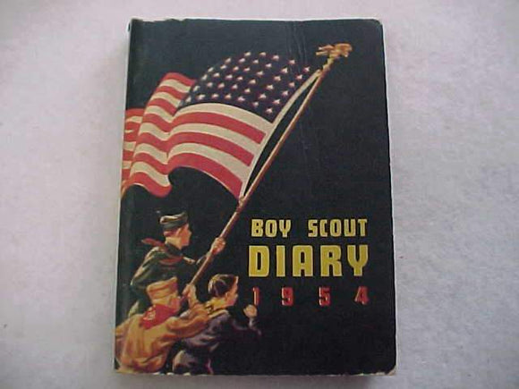 1954 BSA DIARY, VERY GOOD CONDITION, NO WRITING INSIDE