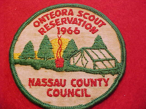 ONTEORA SCOUT RESERVATION, 1966, USED