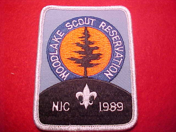 WOODLAKE SCOUT RESERVATION, NORTHERN INDIANA COUNCIL, 1989