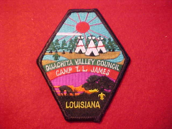 T. L. JAMES, OUACHITA VALLEY COUNCIL, LOUISIANA, BLACK BORDER