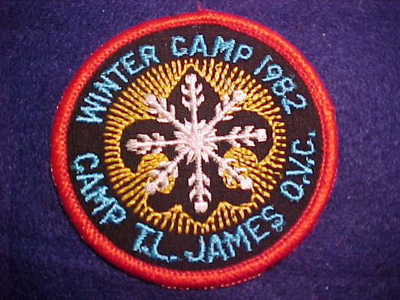 T. L. JAMES, WINTER CAMP, 1992 RED BORDER