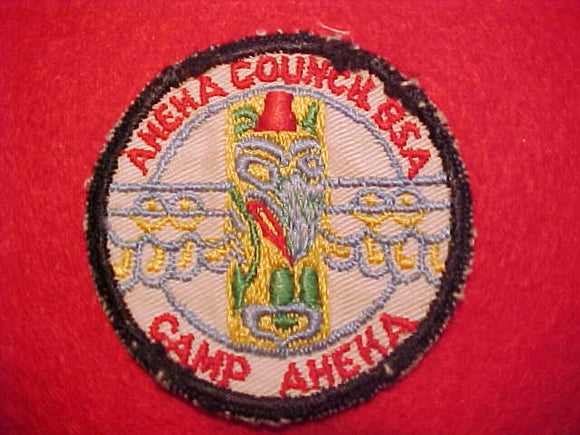 AHEKA, AHEKA COUNCIL, 1950'S, USED