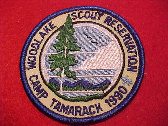WOODLAKE SCOUT RESERVATION, CAMP TAMARACK, 1990