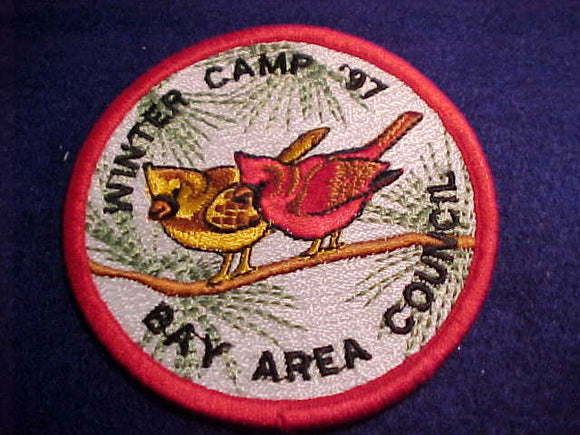 BAY AREA COUNCIL WINTER CAMP, 1997