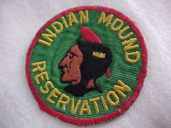 INDIAN MOUND RESERVATION, 1950'S, USED