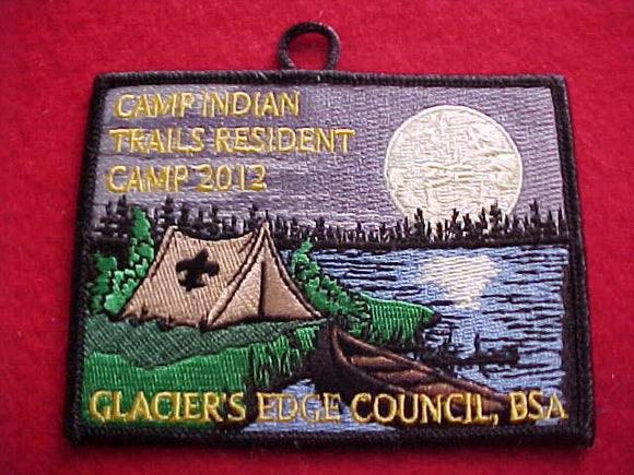 INDIAN TRAILS RESIDENT CAMP, 2012