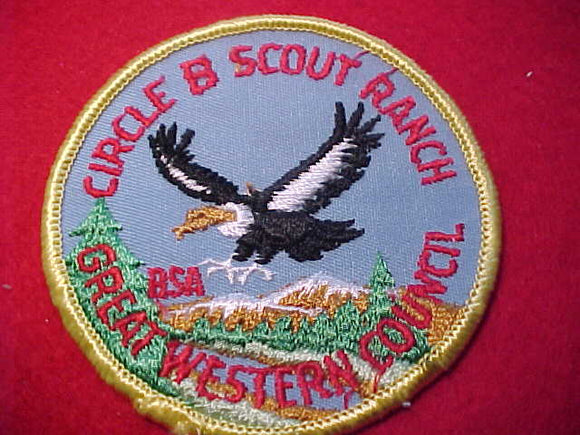 CIRCLE B SCOUT RANCH, 1960'S, GREAT WESTERN C.