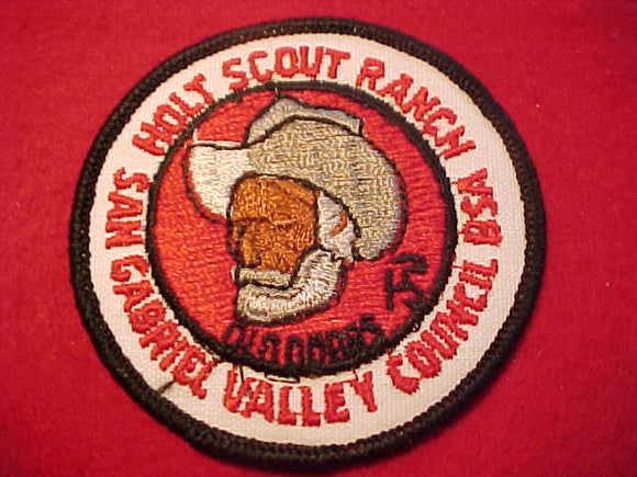 HOLT SCOUT RANCH, 1960'S, SAN GABRIEL VALLEY C.