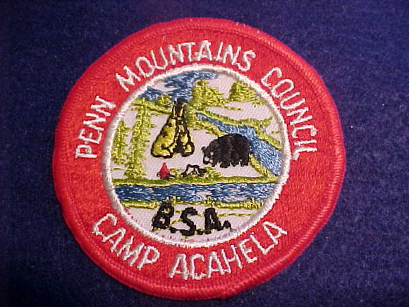 ACAHELA, 1960'S, PENN MOUNTAINS C.