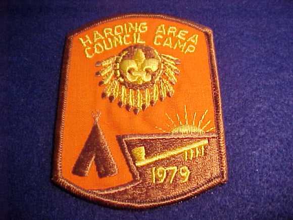 HARDING AREA COUNCIL CAMP, 1979
