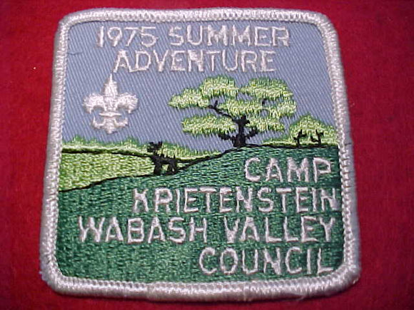 KRIETENSTEIN, 1975, WABASH VALLEY C.