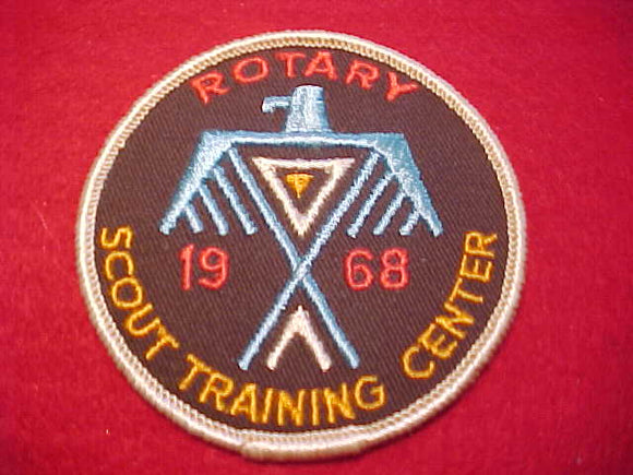 ROTARY SCOUT TRAINING CENTER, 1968