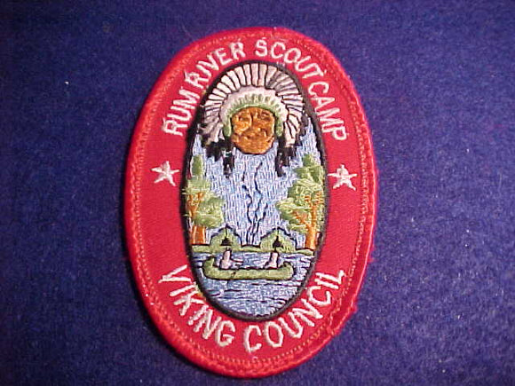RUM RIVER SCOUT CAMP, VIKING C., USED